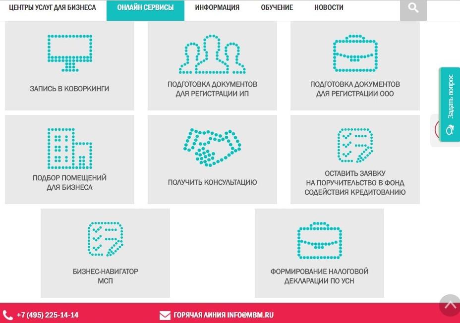 Онлайн сервисы для предпринимателя